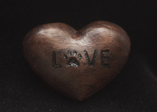 Love Paw Walnut